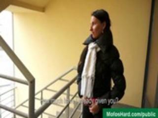 38-amateur gals seducing studs in public