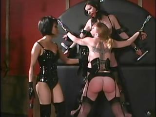 0 randy harlots getting dominated by cute diva