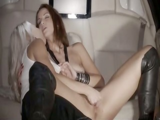 group havingsex in the car