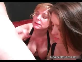 wicked blond and brunette hair harlots jerking