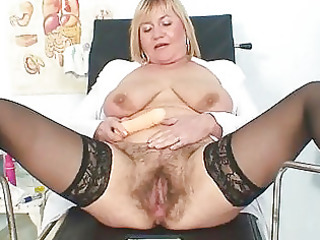 breasty lady irma got extremly unshaved twat