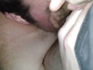 me engulfing a quicky with cum