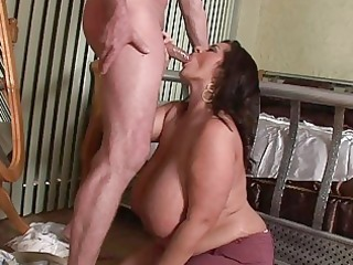 lusty mega breasted mother i playgirl blows a