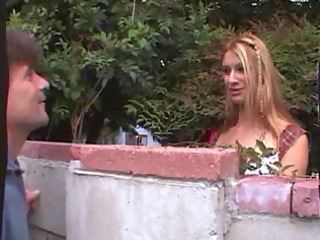 daddy and son duo fucking the dissolute slut
