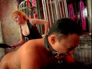 big whoppers female-dominant lolita flogging her