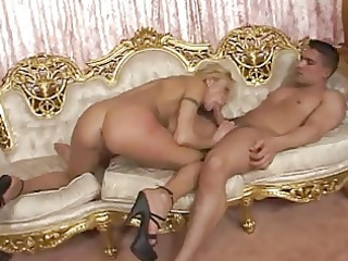 8 lustful knobs share a hawt blond legal age