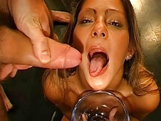 filling chicks throats with cock juice