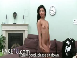 lustful aged woman smokin weenie on couch