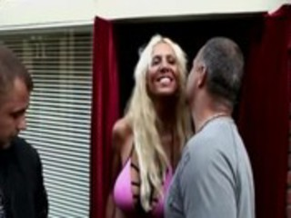 blond dutch hooker uses marital-device