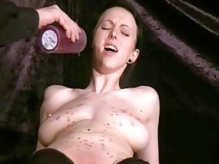 cuntish slavegirl emilys hotwaxing castigation