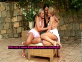 tessa and zoe and sharon lusty lesbian angels