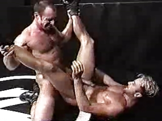 erics wrestling match