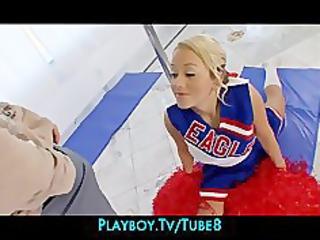 supple bigtit legal age teenager cheerleader