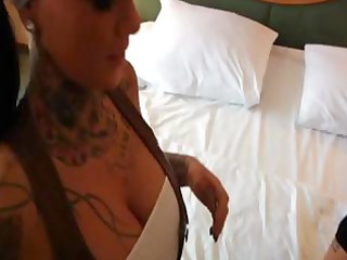 sexy tattooed german gal acquires screwed