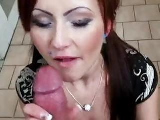 slutty redhead bitch in public anal sex