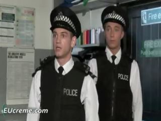 homo police receive threesome strange from part8