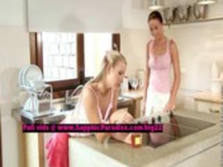 tessa and sharon lesbian dolls undressing