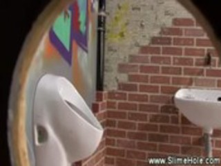 golden-haired floozy is fond of the gloryhole
