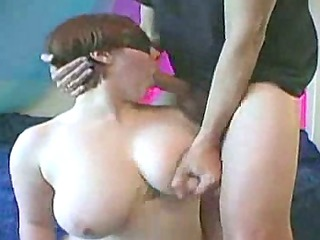 blindfolded with excellent mambos facefucked