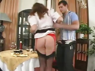 curvy large breasts whore takes it is in the arse