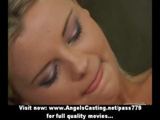 hot youthful blond does oral job and receives