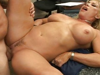 breasty golden-haired mother i pick up a guy and