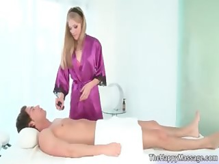 hawt golden-haired masseuse chick t live without