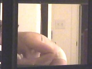 window voyeur - neighbour with large titties