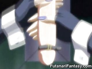 weird manga futanari sex