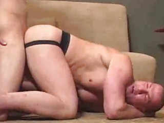 stripped mmf butt acquires a biggest dose of dick
