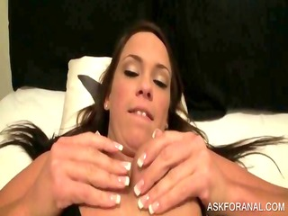 hot doxy getting fur pie fingered