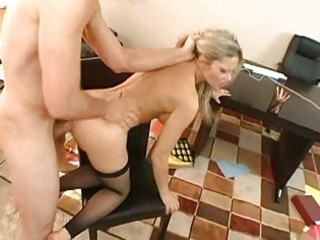 pleasing breasty golden-haired d like to fuck
