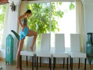 luxury bony teenagers body and undress