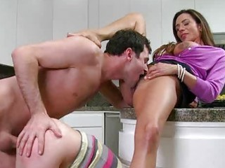 callie and her stepmom ariella screwed