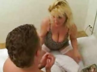 very lascivious mother caught her son reading porn