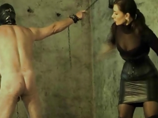 hard punished by the dominatrix-bitch