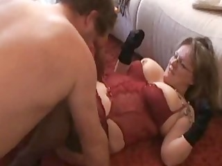 plump and breasty dilettante wife sucks and