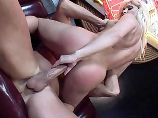 blondes doing doggy style hardcore sex