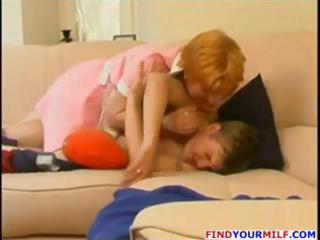 redhead russian d like to fuck blows him on the