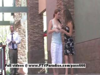 emily and danielle delicate excited lesbos in