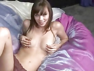 alexis capri solo masturbation with sex-toy and