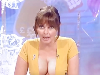 carol vorderman large boobs