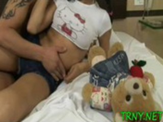 perverted tgirl swallows knob