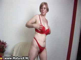 slutty old mommy stripping in a hawt part7