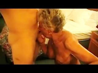 granny shirley acquires drilled by the cougar