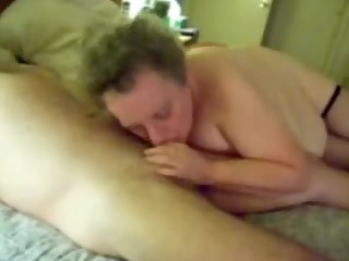 sexy bj from a breasty aged