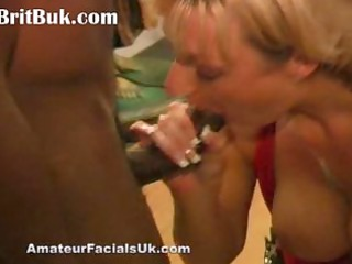 cum queen jade swallows in bukkake ecstasy