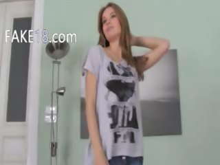 fake agent coitus other sweetheart on couch
