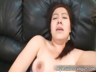 handsome oriental dark brown hoe acquires a sex