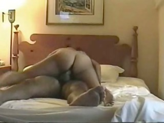 obese cutie drilled on home sex tape